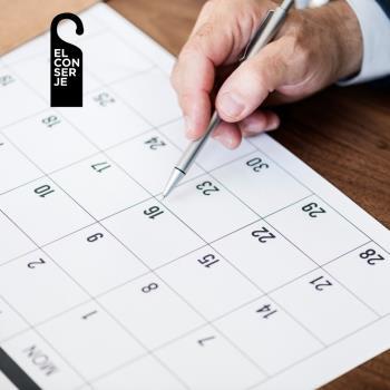 Preparando tu vivienda turística para 2019 con el calendario del año