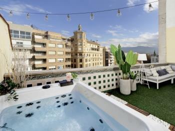 The Ultimate Duplex penthouse jacuzzi